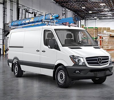expedited shipping sprinter van